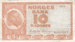 Image #1 of 10 Kroner 1973
