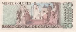 Image #2 of 20 Colones 1982 (8. VII.)