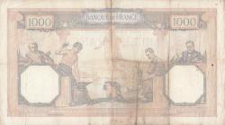 Image #2 of 1000 Francs 1939 (21. IX.)
