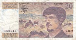 Image #1 of 20 Francs 1980