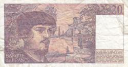Image #2 of 20 Francs 1980