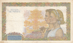 Image #2 of 500 Francs 1940 (5. XII.)