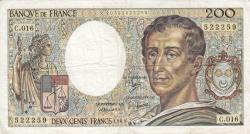Image #1 of 200 Francs 1983
