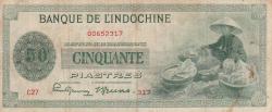 Imaginea #1 a 50 Piastres ND (1945)