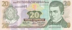 Image #1 of 20 Lempiras 2004 (26. VIII.)