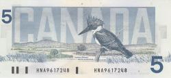 Image #2 of 5 Dollars 1986