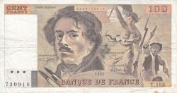 Image #1 of 100 Francs 1991