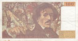 Image #2 of 100 Francs 1991