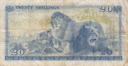 Imaginea #2 a 20 Shillings 1975 (1. I.)
