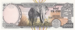 1000 Rupees ND (2000)