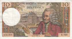 Imaginea #1 a 10 Franci 1971 (2. IX.)