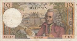 Image #1 of 10 Francs 1973 (8. XI.)