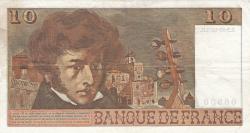 Image #2 of 10 Francs 1974 (3. X.)