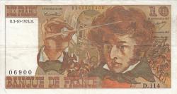 Image #1 of 10 Francs 1974 (3. X.)
