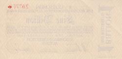 1 Billion Mark 1923 (14. XI.) - 2