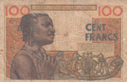 Image #2 of 100 Francs 1956 (23. X.)