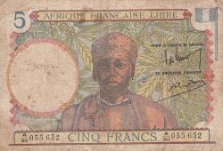 Imaginea #1 a 5 Franci ND (1941)