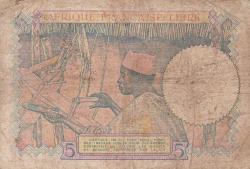 5 Francs ND (1941)