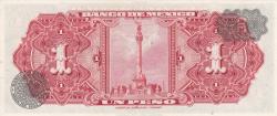 Image #2 of 1 Peso 1965 (9. VI.) - Serie BCQ