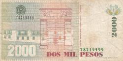 2000 Pesos 1999 (9. IV.)