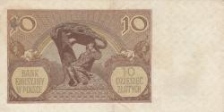 Image #2 of 10 Zlotych 1940 (1. III.) - 1