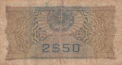 Image #2 of 2 1/2 Escudos 1944 (23. V.)