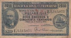 Image #1 of 2 1/2 Escudos 1944 (23. V.)