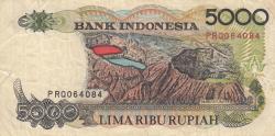 Imaginea #2 a 5000 Rupiah 1992/1994