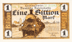 Image #1 of 1 Billion Mark 1923 (15. X.)