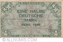 Image #1 of 1/2 Deutsche Mark 1948