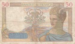 Image #2 of 50 Francs 1938 (20. X.)