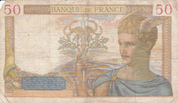 Image #2 of 50 Francs 1938 (27. X.)