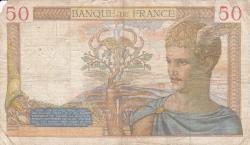 Imaginea #2 a 50 Franci 1938 (27. X.)