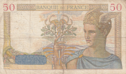 Image #2 of 50 Francs 1938 (28. IV.)
