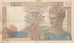 Image #2 of 50 Francs 1939 (10. VIII.)