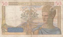 Image #2 of 50 Francs 1939 (15. VI.)