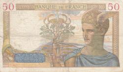 Image #2 of 50 Francs 1939 (7. XII.)