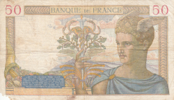 Image #2 of 50 Francs 1940 (14. III.)