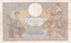 100 Franci 1938 (29. XII.)
