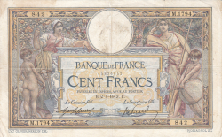 Image #1 of 100 Francs 1913 (2. IV.)