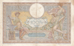 Image #2 of 100 Francs 1913 (2. IV.)