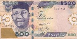 Imaginea #1 a 500 Naira 2009 - semnături (1)