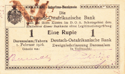 Image #1 of 1 Rupie 1916 (1. II.) - R2