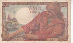 Image #1 of 20 Francs 1943 (28. I.)