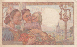 Image #2 of 20 Francs 1943 (28. I.)
