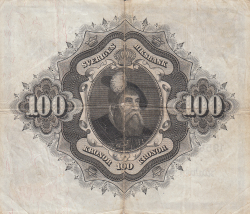 Image #2 of 100 Kronor 1958 - 2