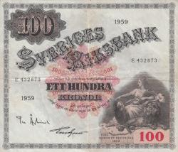 Imaginea #1 a 100 Coroane 1959 - 2