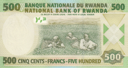 Imaginea #2 a 500 Francs 2004 (1. VII.)