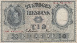 Image #1 of 10 Kronor 1945