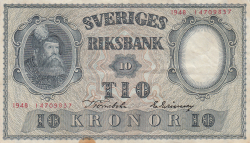 Image #1 of 10 Kronor 1948